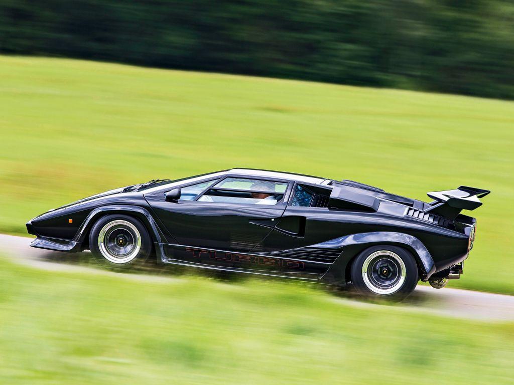 Lamborghini Countach Lp500 Turbo S Prototipo 1984 85