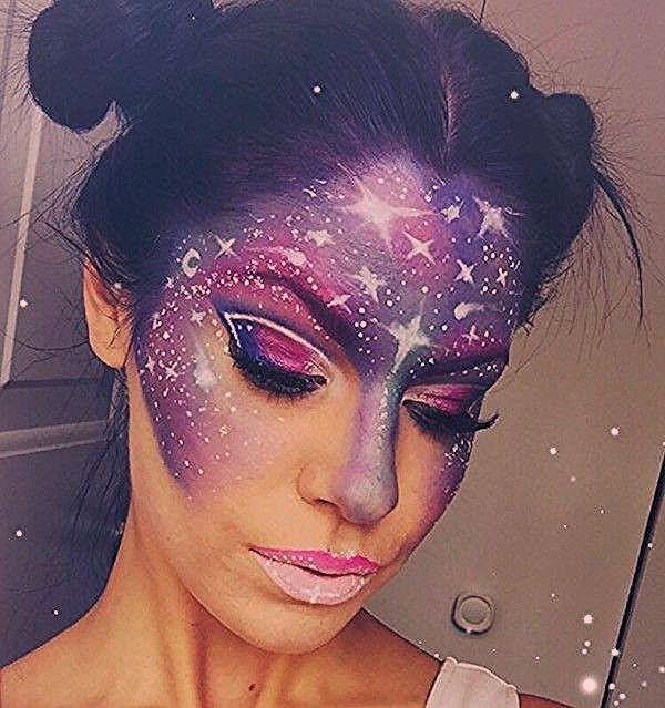 Photo of Galaxy Make-up: Der heißeste Schminktrend aus dem Instagram