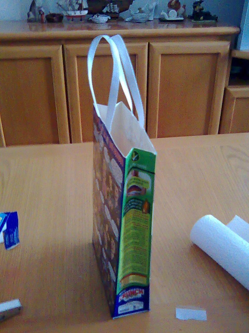 Cereal Box bag | my art | Pinterest