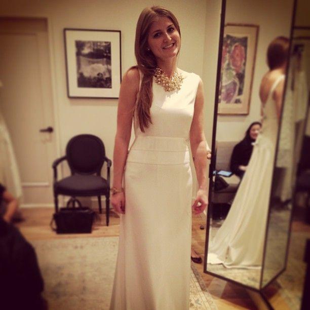 J.Crew Percy gown (front)   Laura\'s Wedding   Pinterest   Wedding ...