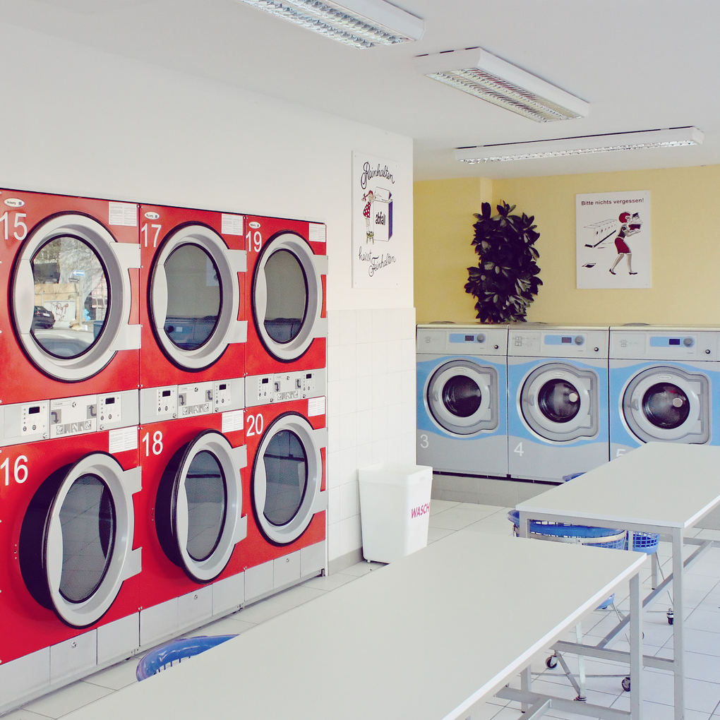 Waschmaschinen Mal Anders Laundry Shop Laundry Business