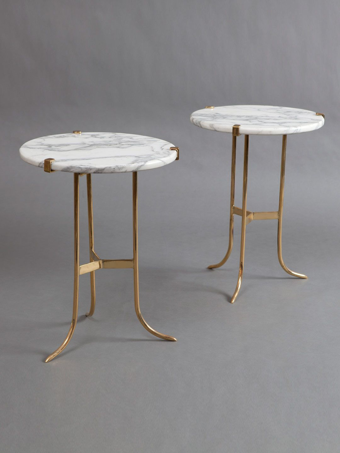 Jansen Marble Tables Set Of 2 By Liz O Brien At Gilt