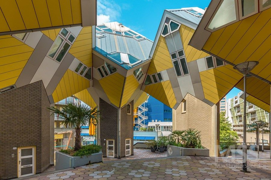Cube houses in Rotterdam Architecture, Modern