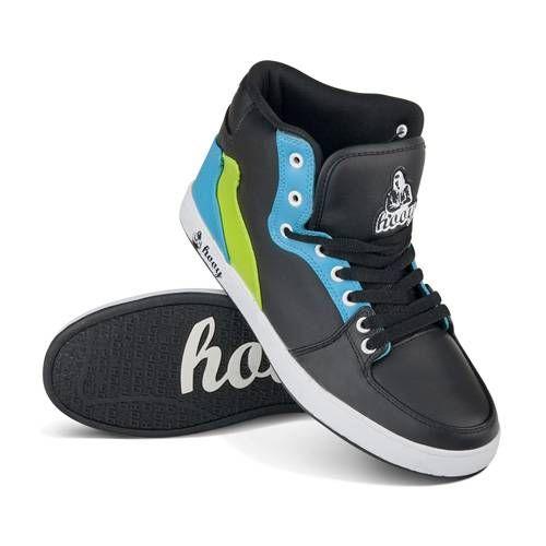 Take It Easy Czarne Buty Sportowe Z Niebieskimi I Zielonymi Dodatkami Z Cholewka Do Kostki Swietne Na Deske Cena 159 Zl Dc Sneaker Shoes Sneakers