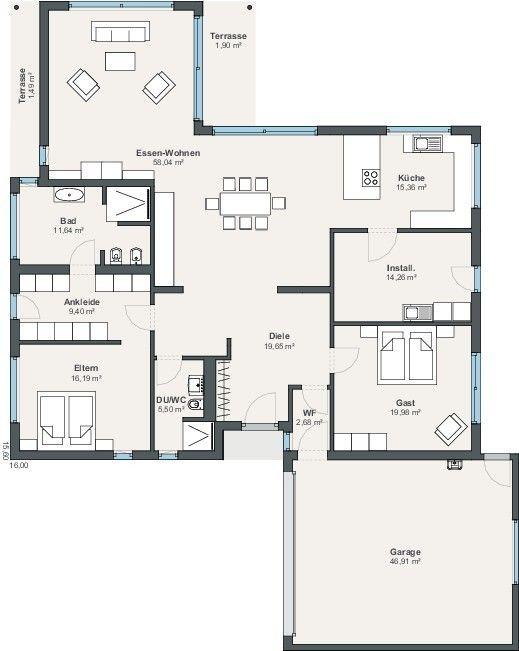 WeberHaus Fertighaus CityLife Haus 700
