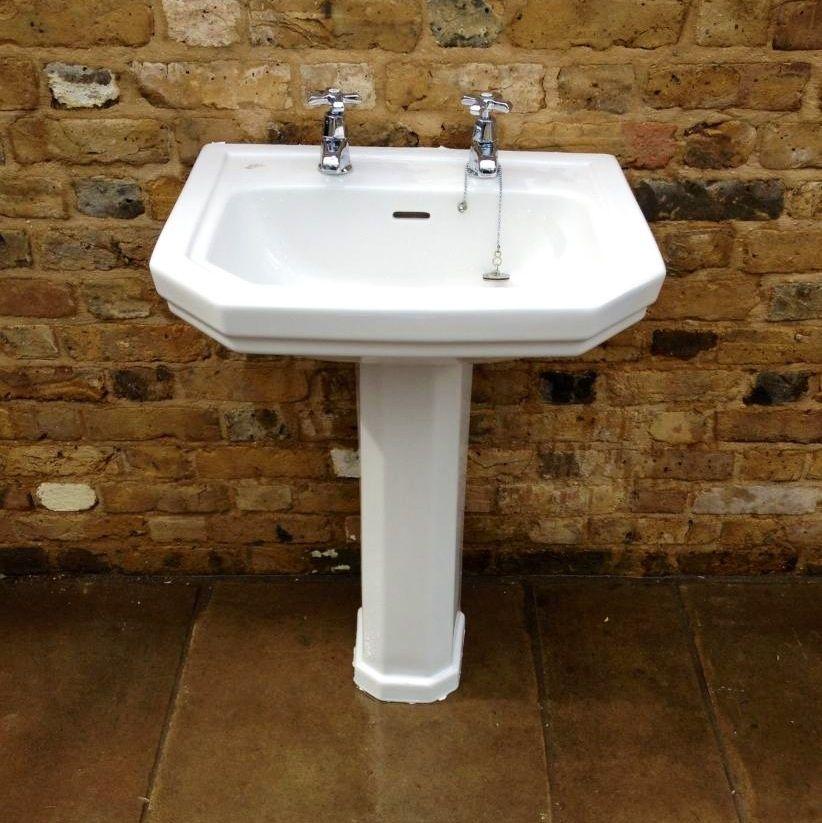 Reclaimed Ideal Standard Porcelain Bathroom Sink For Sale On Salvoweb From V V Reclamation In Hertfo Bathroom Sinks For Sale Porcelain Bathroom Sink Bathroom