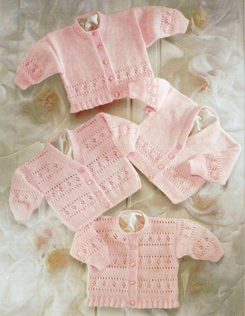 Sirdar--Cardigans (premature to 2 years) - this is a ...
