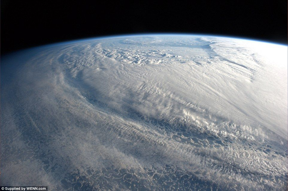 Incredible pictures taken by astronaut on International Space
