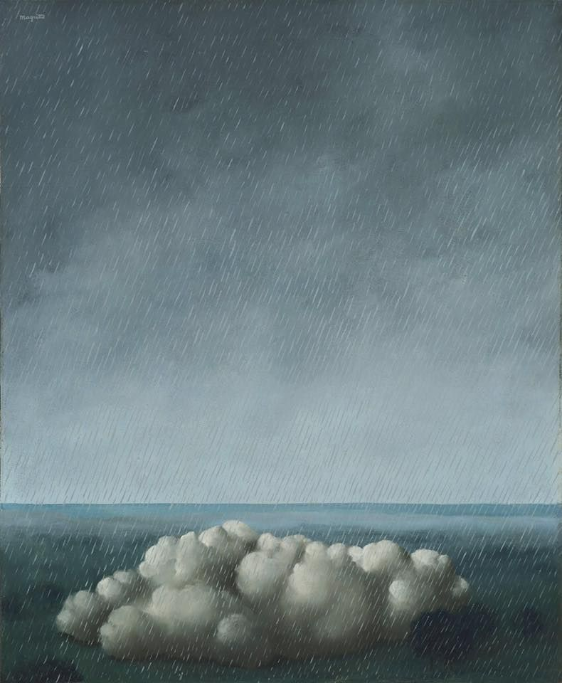 René Magritte. Song of the storm, 1937