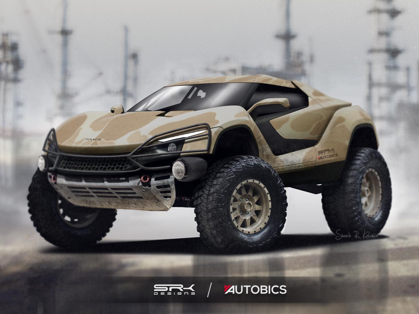 Tamo Racemo By Tata Motors Imagined As An Off Road Machine It Is A Two Seater Sports Coupe That Was Unveiled At The 87th Gene Super Cars Tata Motors City Car