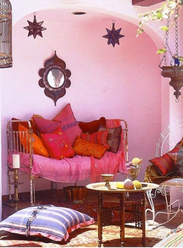 bohemian-home-interior-BOHO (36)This is the idea I was thinking of ...