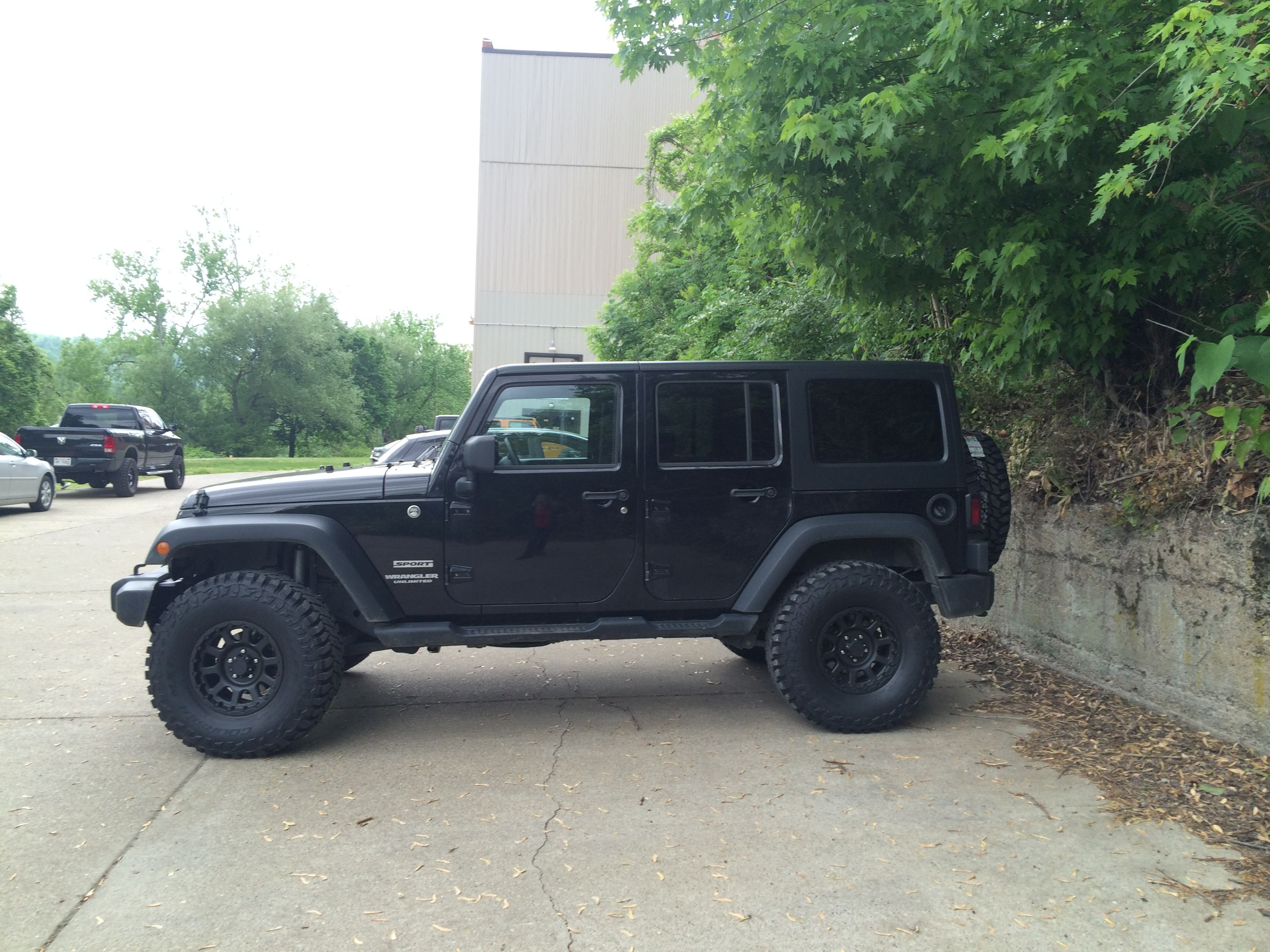 2013 Jk With Modifications Installed At Ntw 2 1 2 Rough Country