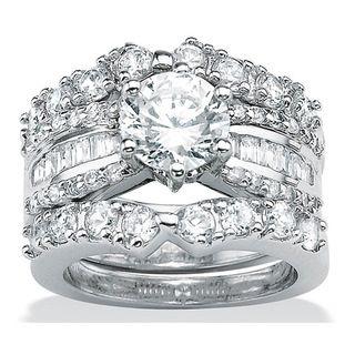 Bulky Diamond Wedding Ring Cubic Zirconia Wedding Rings Silver Wedding Rings Sets Wedding Ring Sets
