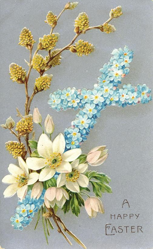 Free Vintage Religious Easter Cards Spring ☸ Easter - free printable religious easter cards