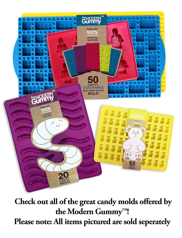 Amazon.com: PROFESSIONAL GRADE PURE LFGB SILICONE Gummy ...