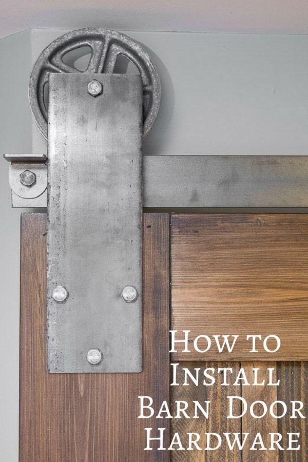 How To Install Sliding Barn Door Hardware Sliding Barn Door