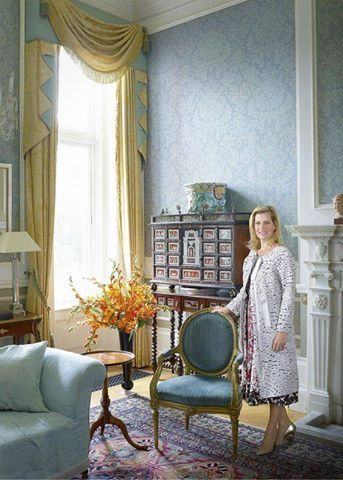 Sophie Countess Of Wessex At Home Bagshot Park Surrey Edward