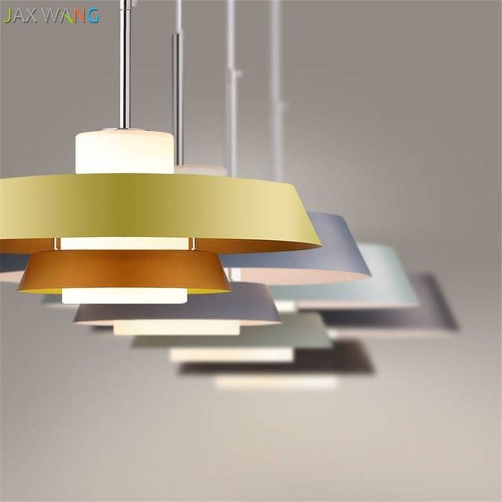 32 Popular Hanging Lamp Design Ideas For Your Living Room Decor In