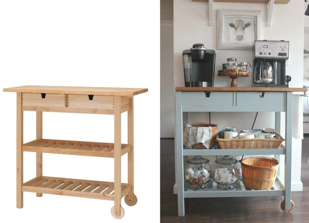 portable kitchen island ikea. 7 Ikea Hacks For Your Kitchen That You Can Actually Do Portable Island H