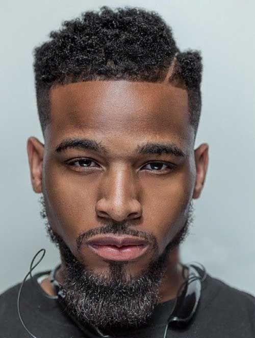 30 Hard Part Haircut Ideas   hairstyles   Black men haircuts ...