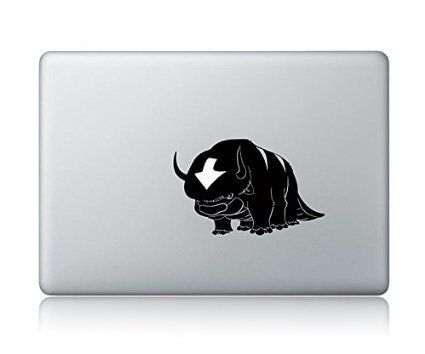 Avatar Appa The Last Airbender Apple Macbook Decal Vinyl Sticker ...