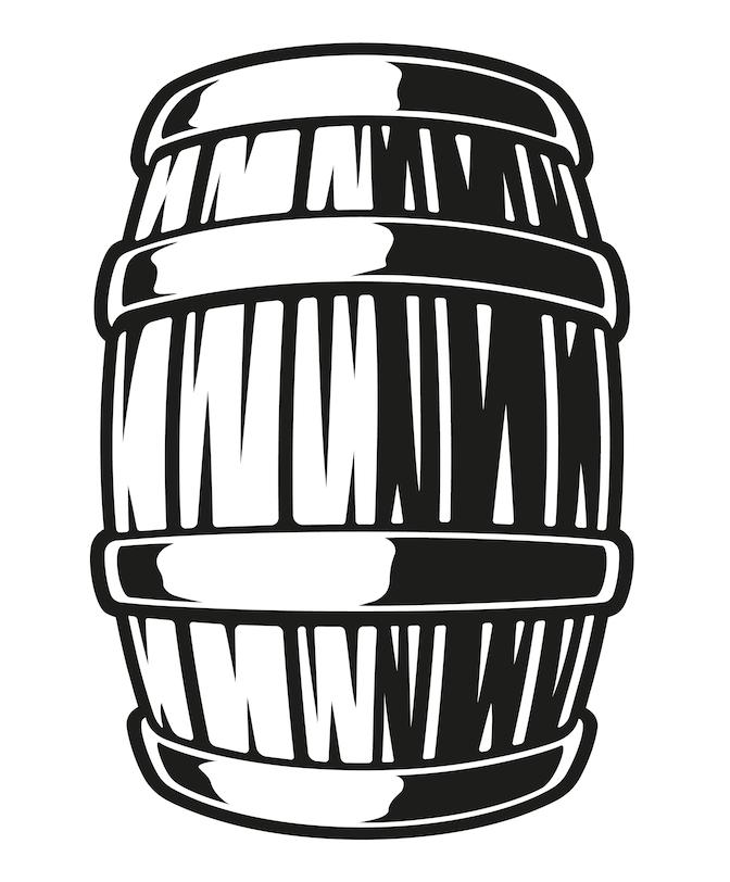 Vector Illustration Of A Barrel Of Beer On A White Background Vector Illustration Illustration Vector Art