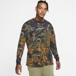 Photo of Jordan Animal Instinct Langarm-T-Shirt für Herren – Schwarz NikeNike
