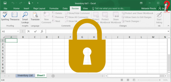 how to lock Excel Cells in 2019 The row, Microsoft excel