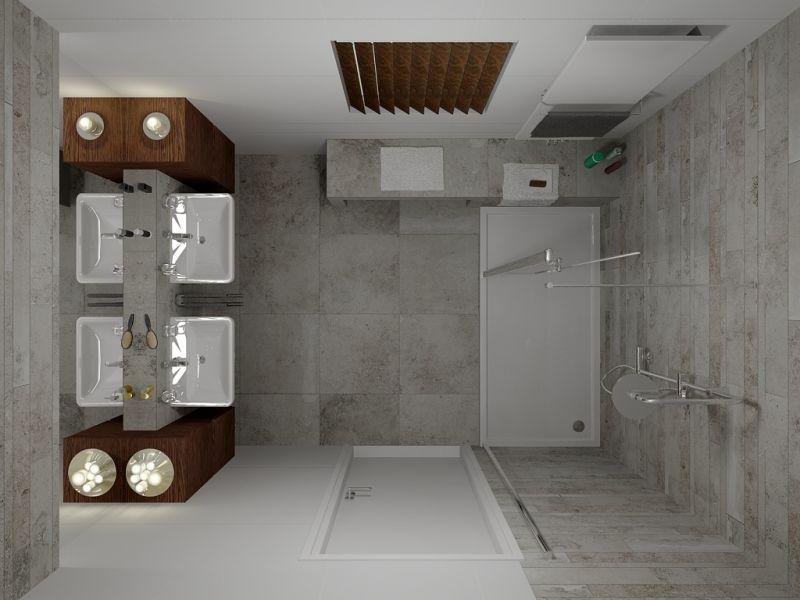 Faïence salle de bains u2013 88 des plus beaux carrelages design venant - salle de bains douche italienne