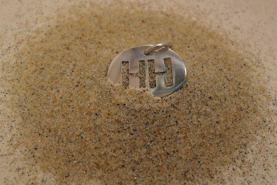 Sterling Silver Hilton Head Huber Heights HH by jewelrybymatt, $35.00