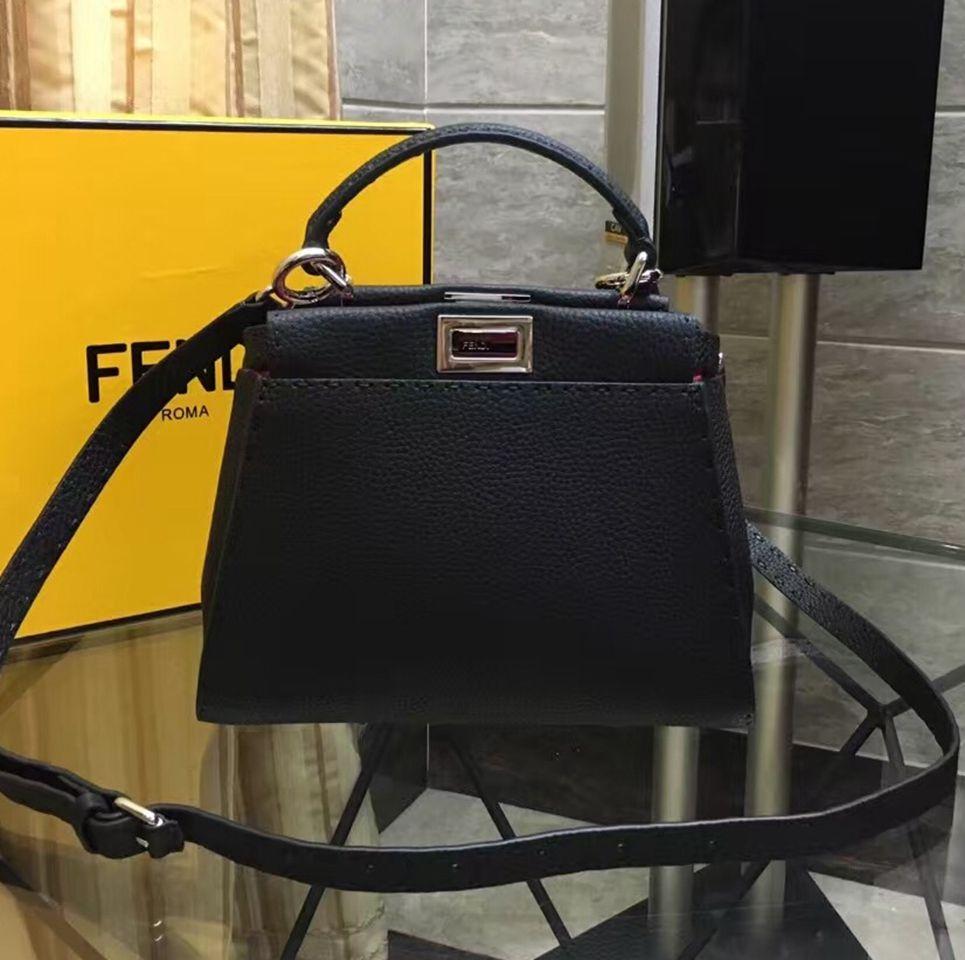 197ee5d1ea FENDI Peekaboo Bag Sale  Fendi Mini Peekaboo Selleria Handbag 100% Authentic