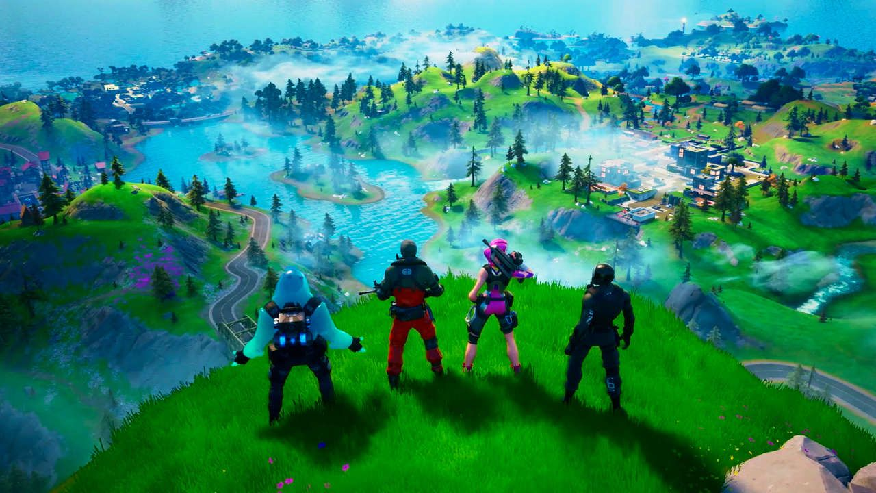 Gamespot Fortnite Chapter 2 New Map Named Locations Guide Fortnite Chapter 2 Season 1 Emerges From The Black Hole Fortnite Epic Games Fortnite Season 11