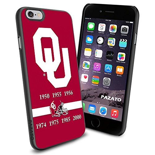 """Oklahoma Sooners iPhone 6 4.7"""" Case Cover Protector for iPhone 6 TPU Rubber Case SHUMMA http://www.amazon.com/dp/B00T46UB50/ref=cm_sw_r_pi_dp_p91mvb0SDY3Y0"""