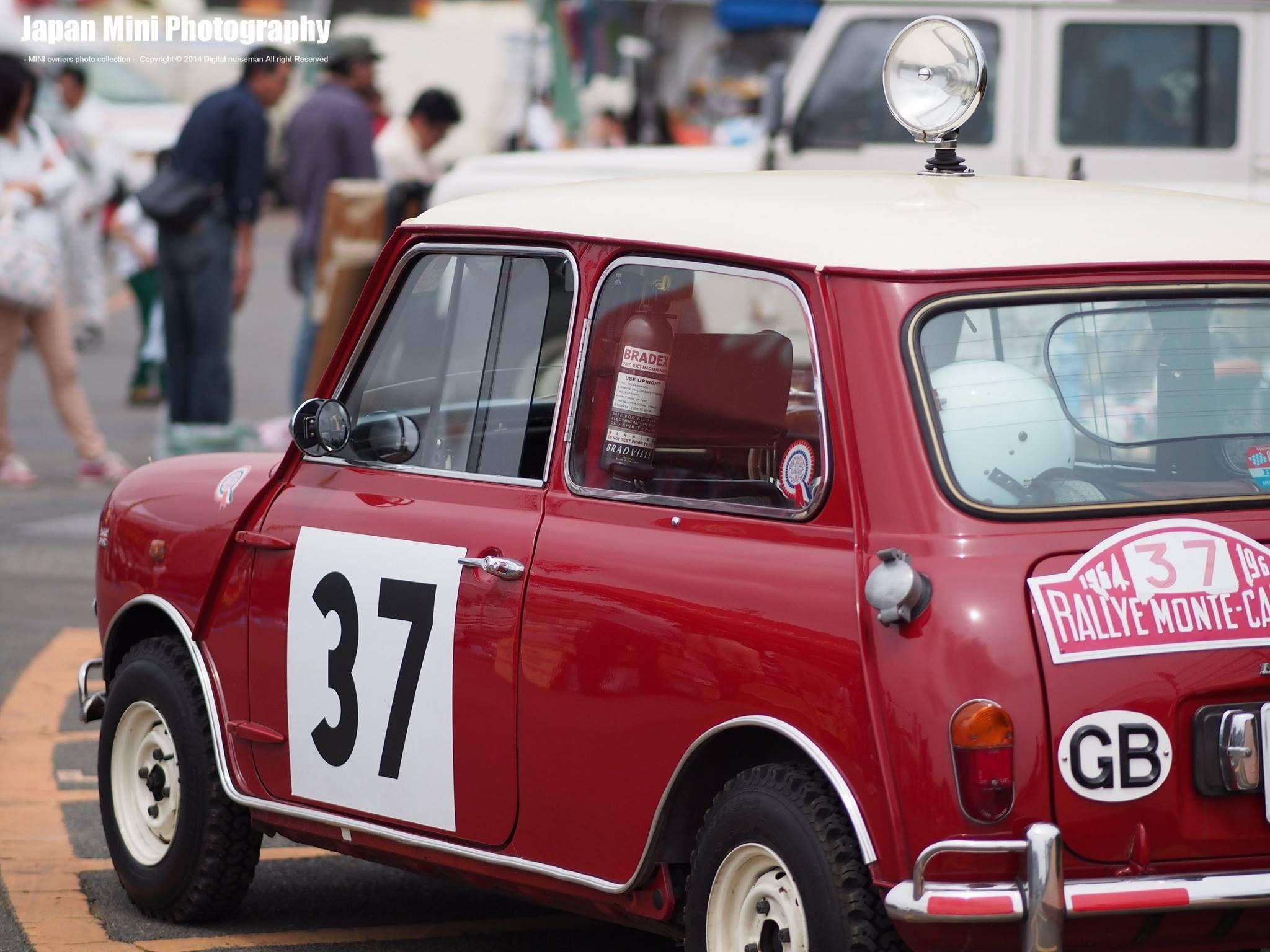 33 Ejb 1964 Monte Carlo Rally Hopkirk Red Mini