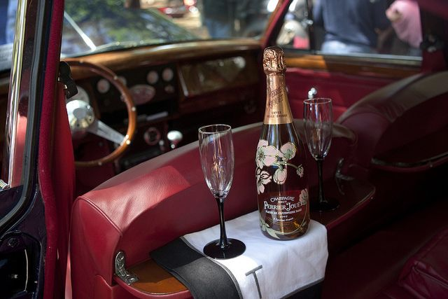 Champagne Car at the All British Car Show by Christopher Elliott, via Flickr