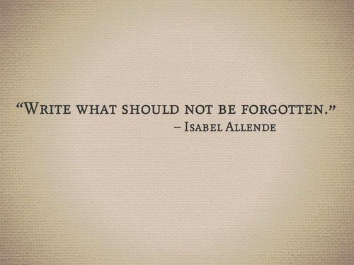 write. write. write.