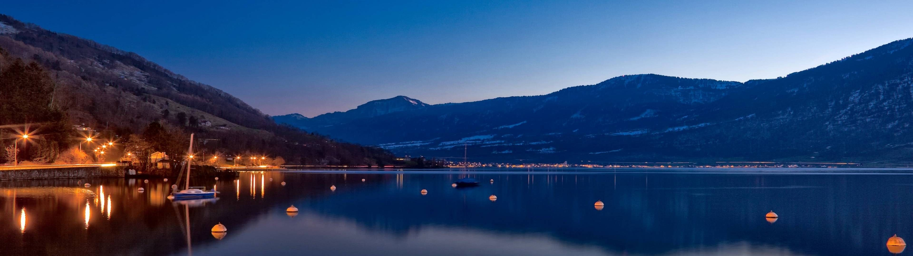 4k lake hd wallpaper (3840x1080)