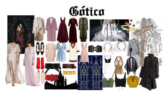 """""""Edad gótica"""" by stacey-liz on Polyvore featuring moda, Puma, Jil Sander, Rick Owens, Boohoo, Eskandar, Gucci, La Mania, LUISA BECCARIA y Chicwish"""