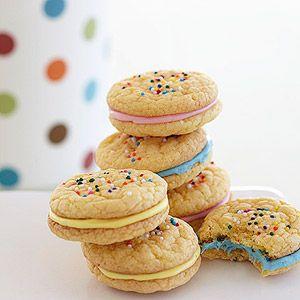 Cake batter cookies recipe