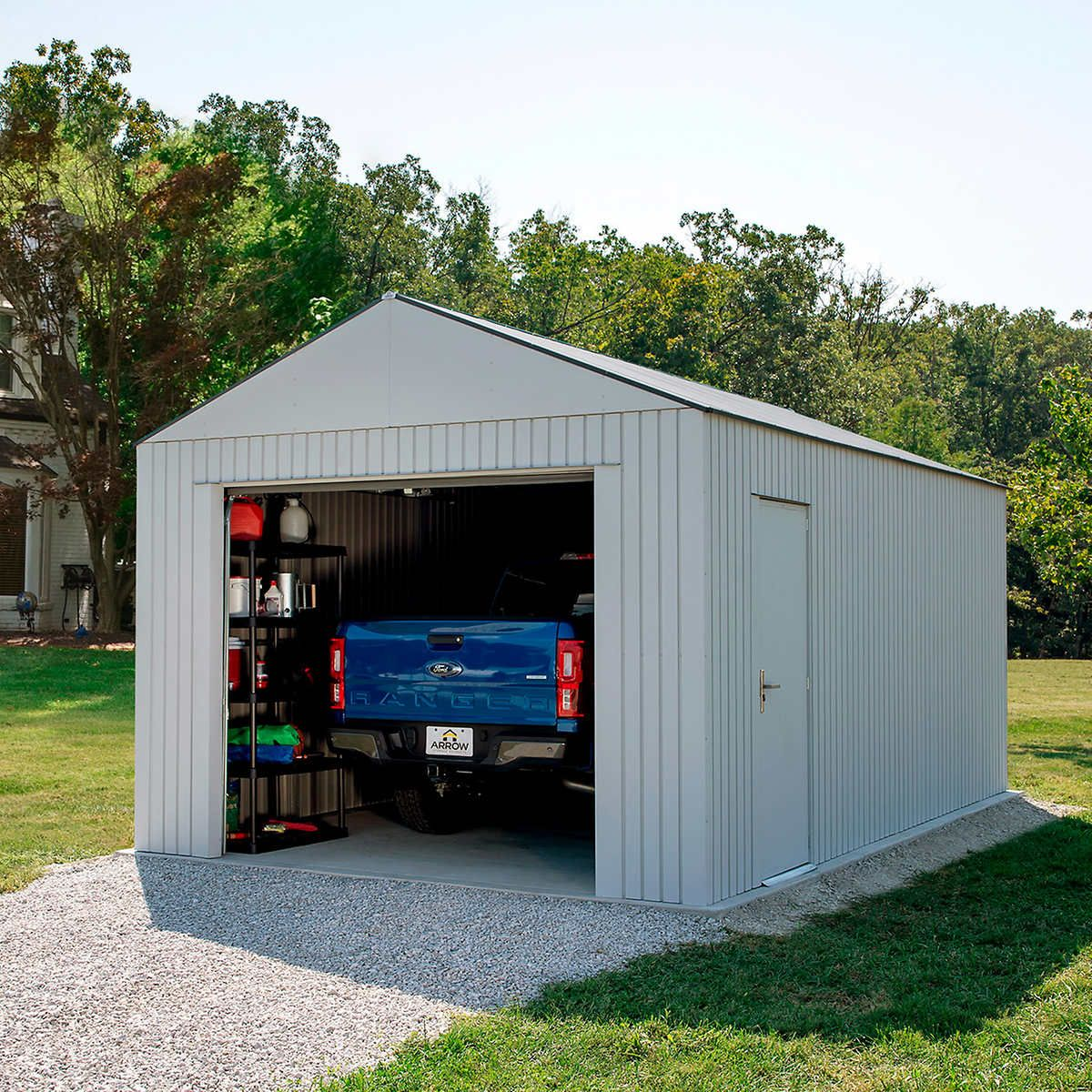 Arrow Aspen 12 X 20 Garage In 2020 Beach House Interior Design Shed Wooden Sheds