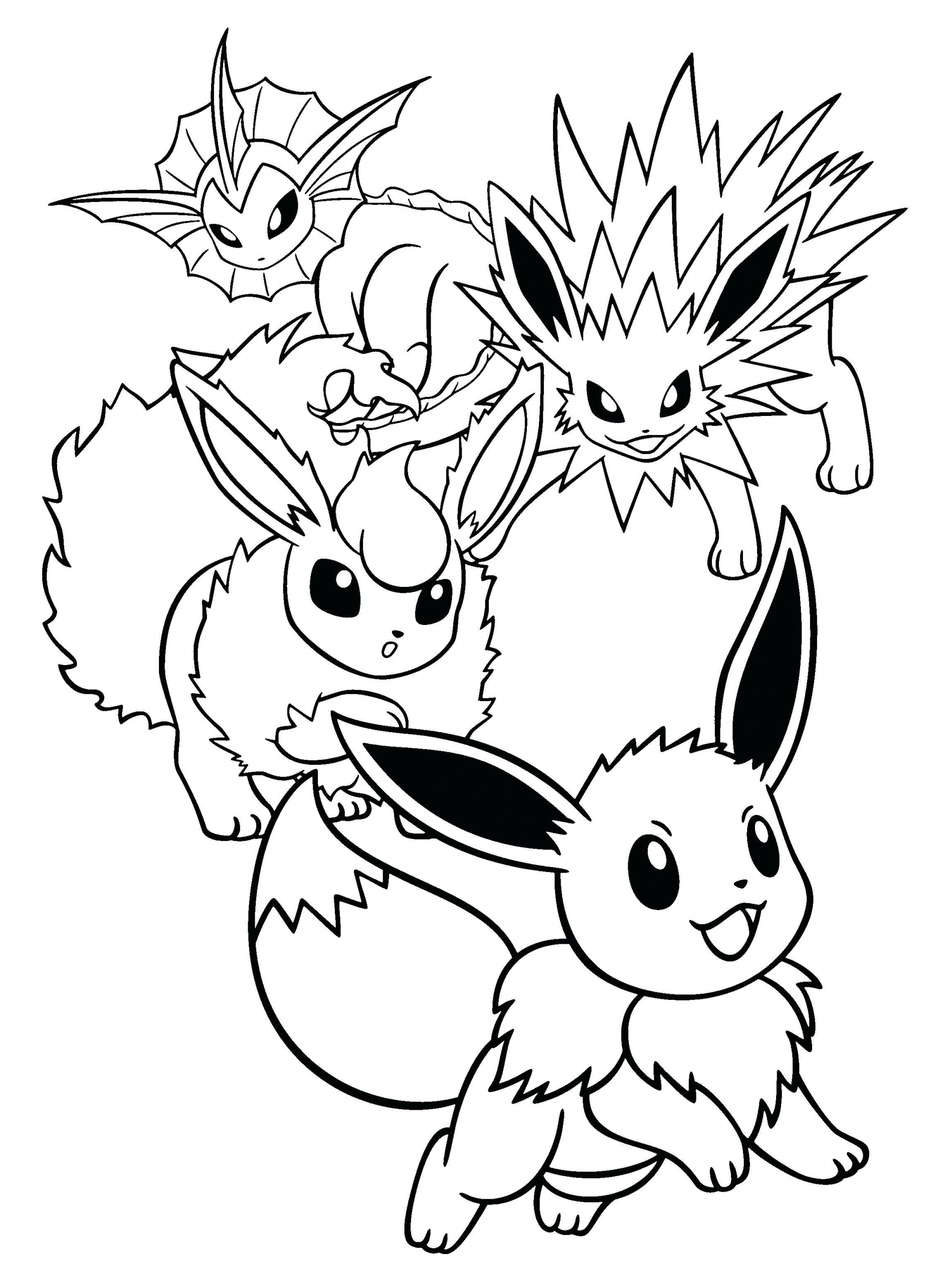 Pokemon Eevee Coloring Page Youngandtae Com In 2020 Pikachu Coloring Page Pokemon Coloring Pokemon Coloring Pages