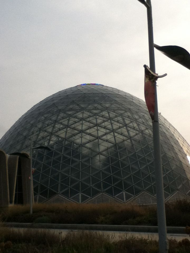 The domes I went to in Milwaukee!