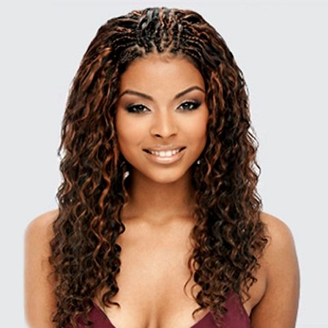20 Charming Braided Hairstyles For Black Women Braided