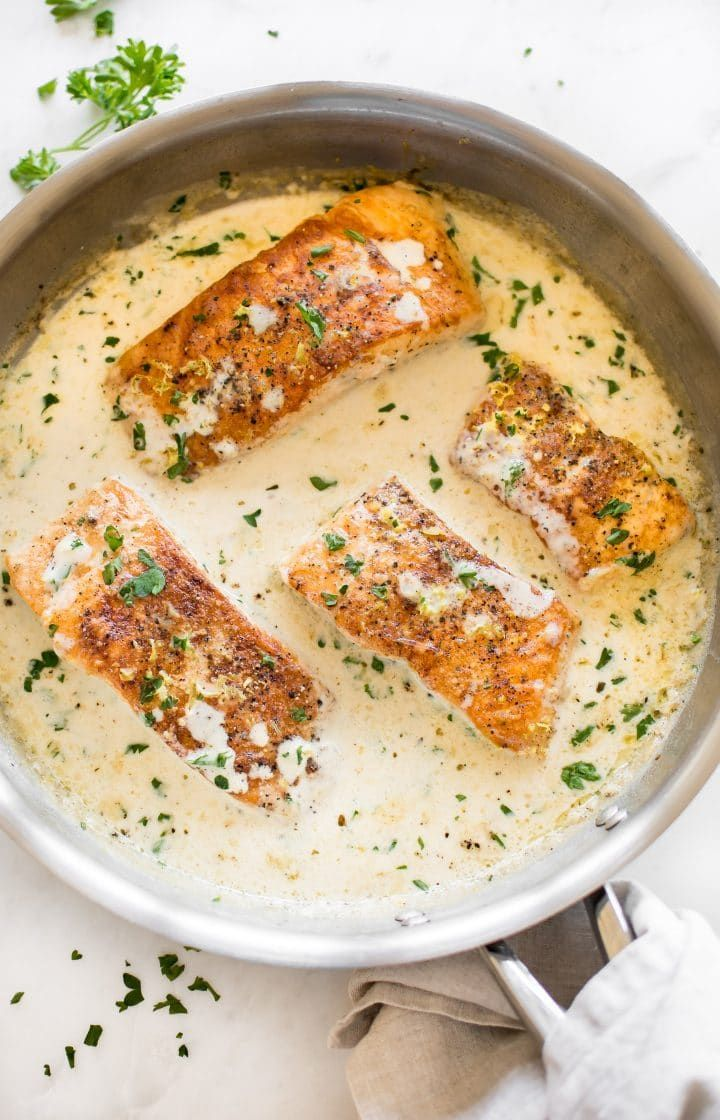 Creamy Lemon Salmon
