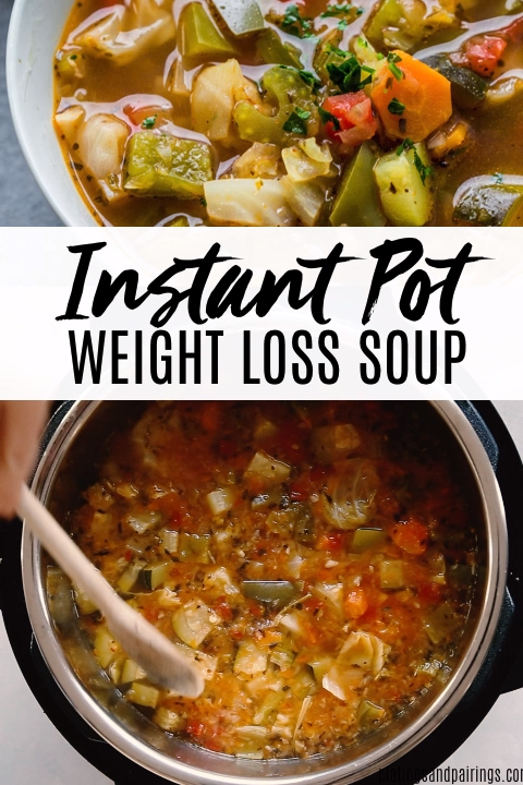 Instant Pot Weight Loss Soup **0 WW Points