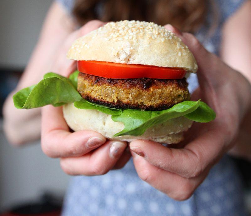 Kokebok 50 Kjøttfrie Burgere Veganmisjonen Vegansk Burgerbok Oppskrift…