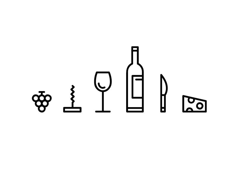 Wine Ilustrations Wip Wine Tattoo Wine Glass Tattoo Wine Logo