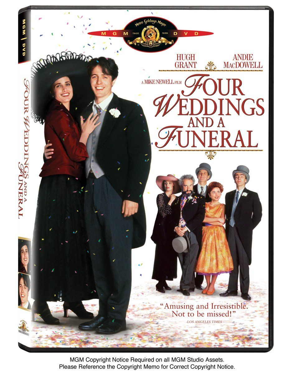 Amazon Com Four Weddings And A Funeral Hugh Grant Andie Macdowell James Fleet Simon Callow John Hannah Full Movies Online Free Funeral Free Movies Online
