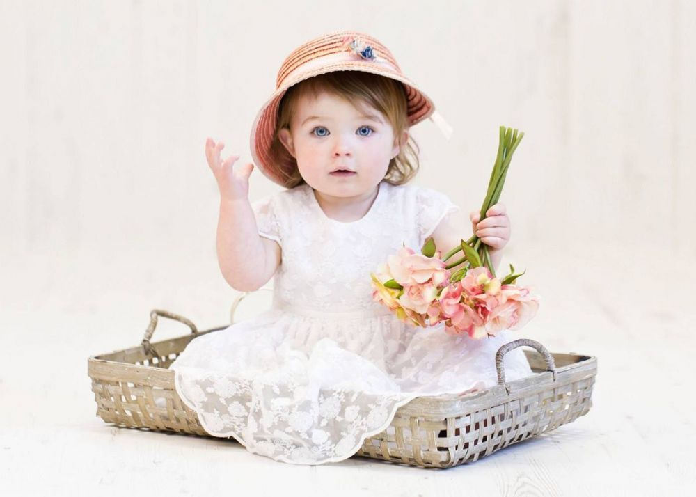 Shallow basket newborn baby posing prop baskets are a great newborn prop and are used