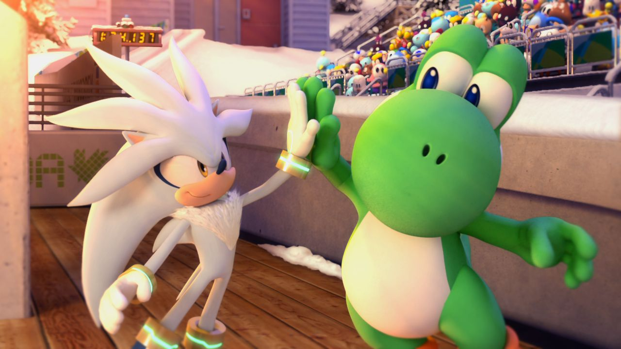 Mario And Sonic At The Olympic Winter Games Jeux Jeux